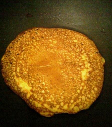 banana and choco pancakes 2
